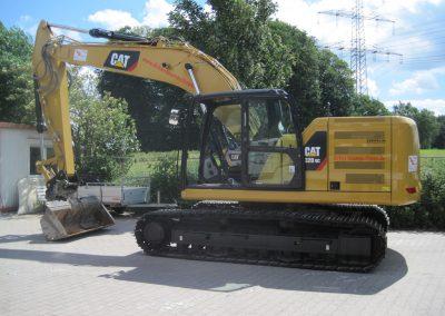 Kettenbagger Caterpillar 320 GC 4 - Dirkes Baumaschinen