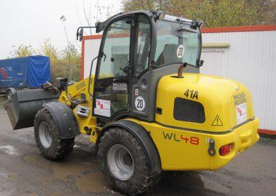 Radlader Wacker WL48 4 - Dirkes Baumaschinen